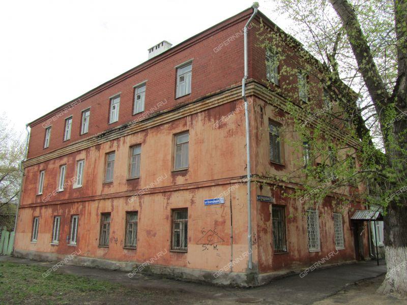 однокомнатная квартира на улице Луначарского дом 2